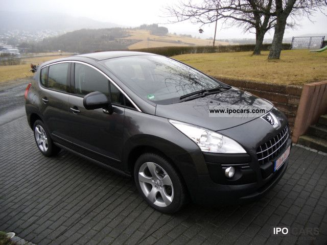 2009 peugeot 3008 hdi fap 150 premium car photo and specs. Black Bedroom Furniture Sets. Home Design Ideas