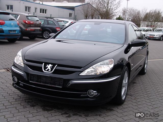 2009 peugeot platinum 607 hdi fap 170 bi turbo car photo and specs. Black Bedroom Furniture Sets. Home Design Ideas