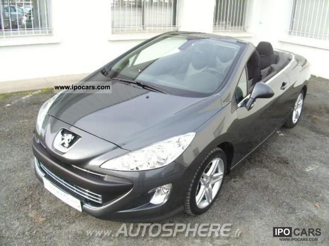 2011 peugeot 308 cc 2 0 sport pack fap hdi140 car photo. Black Bedroom Furniture Sets. Home Design Ideas