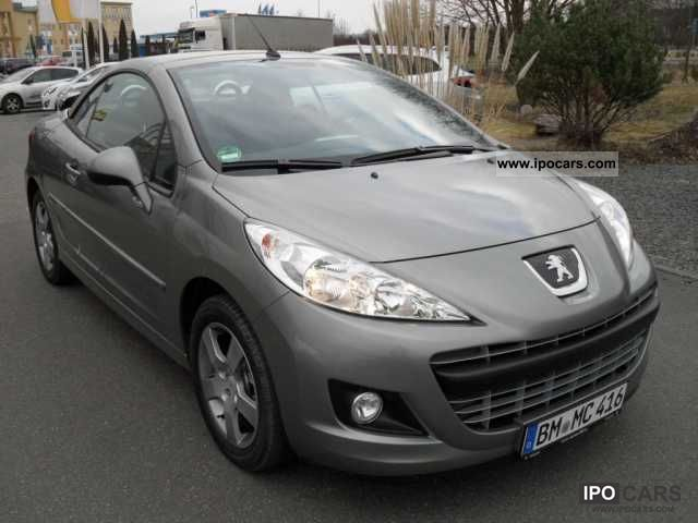 2012 peugeot 207 cc 120 vti active city package seat heater car photo and specs. Black Bedroom Furniture Sets. Home Design Ideas