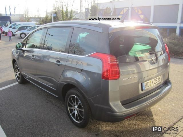 2012 peugeot 5008 hdi 150 fap allure xenon car photo and specs. Black Bedroom Furniture Sets. Home Design Ideas