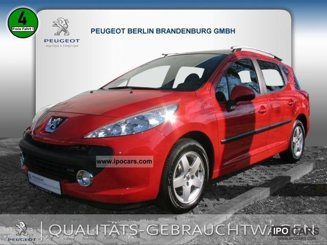 2009 peugeot 207 sw 75 air urban move car photo and specs. Black Bedroom Furniture Sets. Home Design Ideas