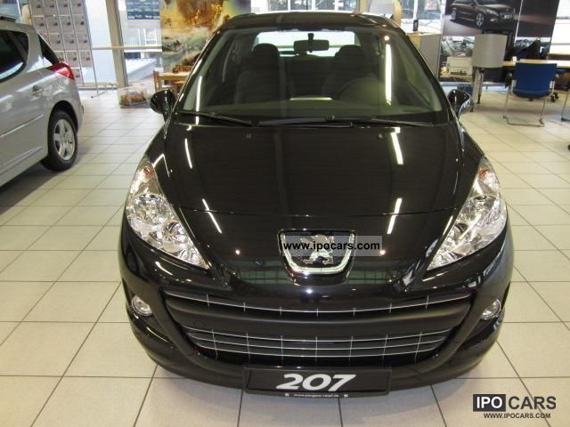2012 peugeot tendance 207 95 vti 3t fap car photo and specs. Black Bedroom Furniture Sets. Home Design Ideas