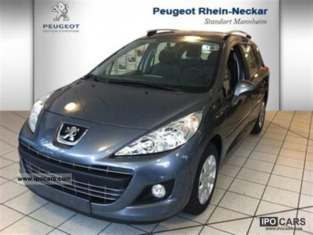 2011 peugeot 207 sw hdi fap 90 tendance car photo and specs. Black Bedroom Furniture Sets. Home Design Ideas