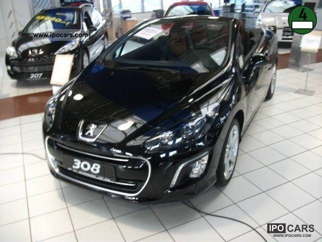 2012 peugeot 308 cc hdi fap 165 allure car photo and specs. Black Bedroom Furniture Sets. Home Design Ideas