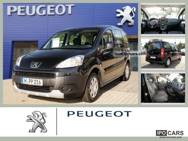 2011 Peugeot  Partner Tepee HDi 110 Tendance Limousine Demonstration Vehicle photo