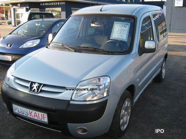 2007 Peugeot  Partner Tepee HDI 90 Van / Minibus Used vehicle photo