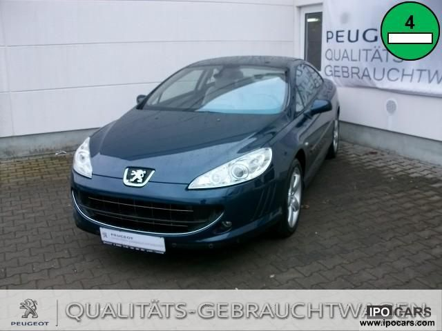 2008 Peugeot  407 Coupe HDi FAP 135 Platinum Sports car/Coupe Used vehicle photo