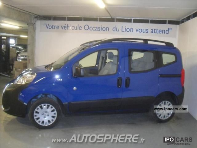 2009 peugeot bipper tepee outdoor 1.4 hdi - car photo and specs