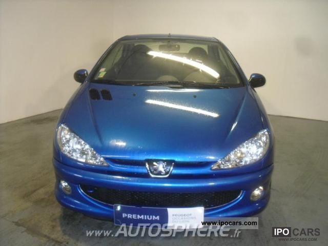 2004 peugeot 206 cc 1 6 16v baa car photo and specs. Black Bedroom Furniture Sets. Home Design Ideas
