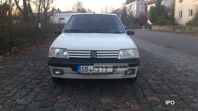 1990 Peugeot  205 XS Small Car Used vehicle photo