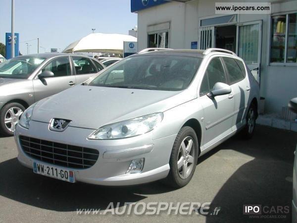 2010 Peugeot  2.0 FAP 407 premium HDi140 Estate Car Used vehicle photo