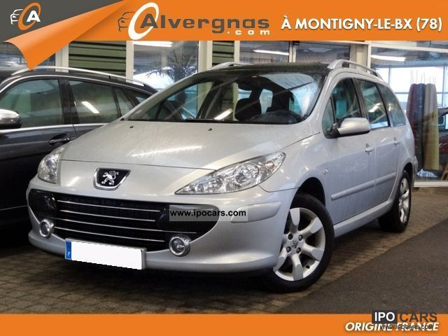2007 peugeot 307 2 sw 1 6 hdi 110 fap sport car photo and specs. Black Bedroom Furniture Sets. Home Design Ideas