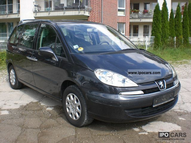 2004 peugeot 807 hdi navigation climate atm 77 000 km car photo and specs. Black Bedroom Furniture Sets. Home Design Ideas