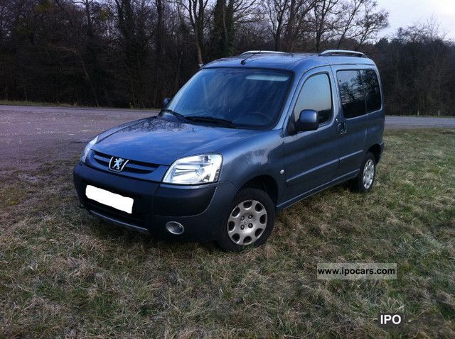 2007 Peugeot  PARTNER sporty 1.6 HDi 75 PACK CD CLIM Other Used vehicle photo