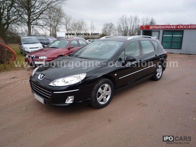 2010 Peugeot  2.0 Tdi 140cv Pack Limited BV6 Estate Car Used vehicle photo