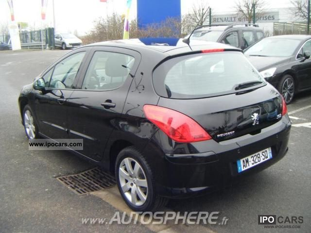 2010 peugeot 308 1 6 business pack fap hdi112 5p car photo and specs. Black Bedroom Furniture Sets. Home Design Ideas