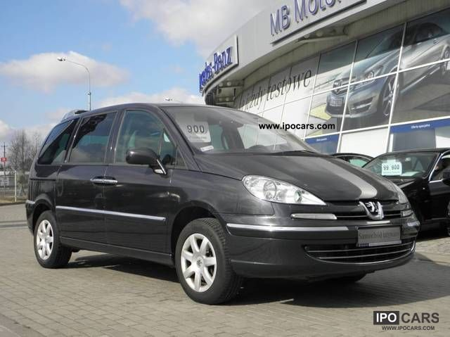 2008 peugeot 807 2 2 hdi 170 km premium 7osobowy car photo and specs. Black Bedroom Furniture Sets. Home Design Ideas