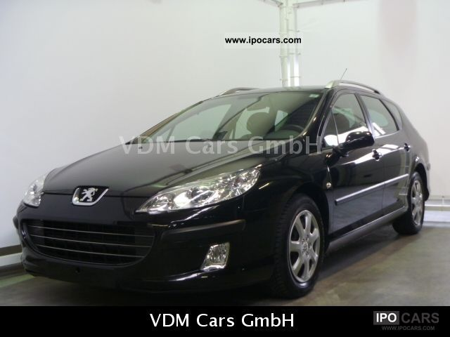 2008 Peugeot  407 SW 1.6 HDi 110 * Climate * Nav * NET 5336 Estate Car Used vehicle photo