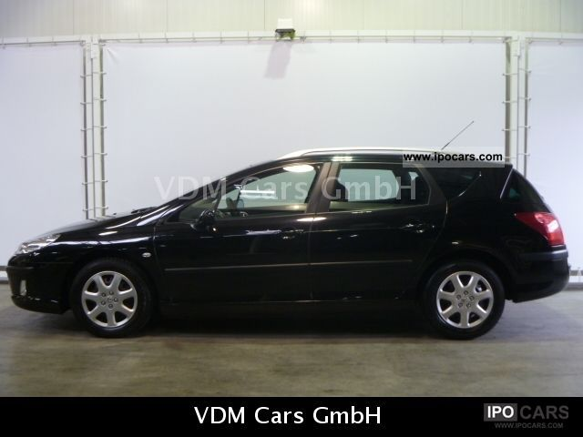 2008 peugeot 407 sw 1 6 hdi 110 climate nav net 5336 car photo and specs. Black Bedroom Furniture Sets. Home Design Ideas