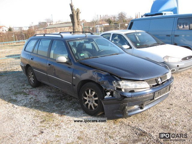2001 Peugeot  406 Estate Car Used vehicle photo