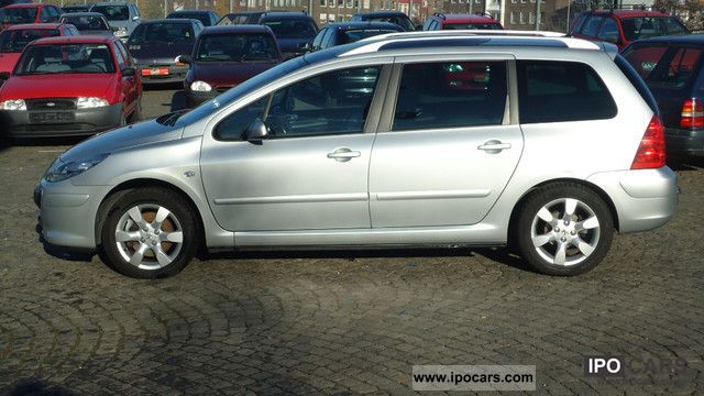 2007 Peugeot 307 Hdi Sw 135 Oxygo Car Photo And Specs