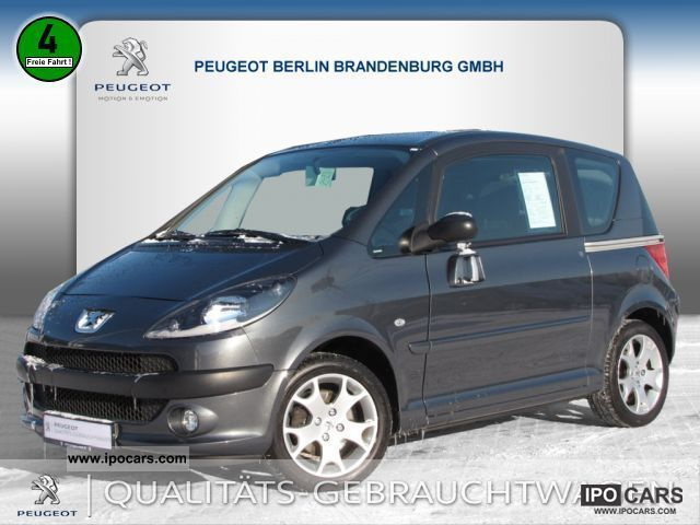 2004 peugeot 1007 110 related infomation specifications weili automotive network. Black Bedroom Furniture Sets. Home Design Ideas
