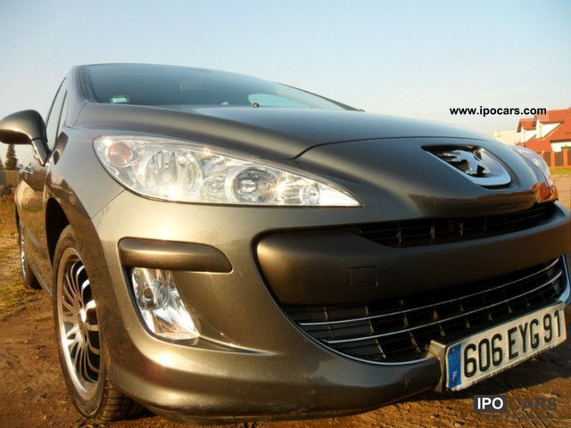 2009 peugeot 308 confort pack hdi 110 car photo and specs. Black Bedroom Furniture Sets. Home Design Ideas