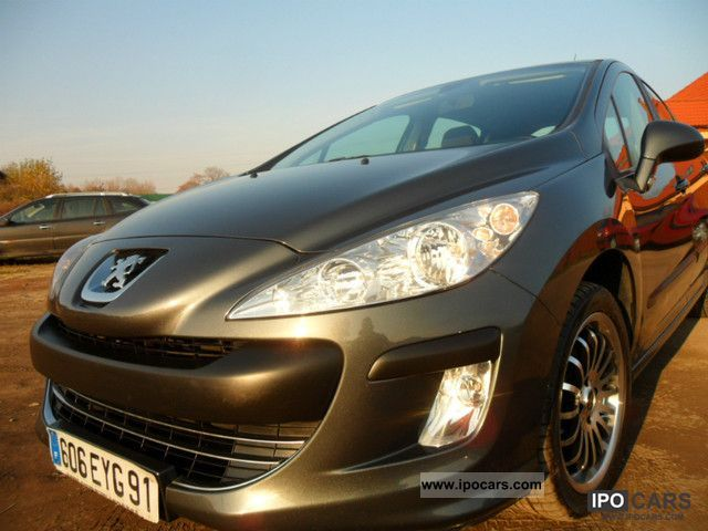 2009 peugeot 308 confort pack hdi 110 car photo and specs