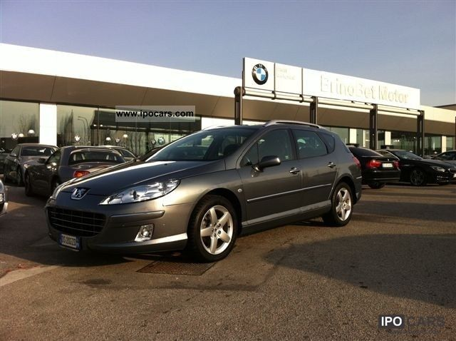 2008 Peugeot 407 SW 2.0 HDi FAP Ciel Féline Estate Car Used vehicle ...