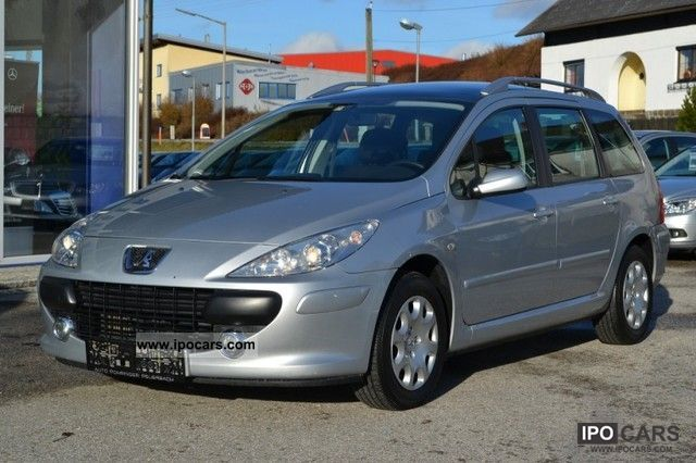 2008 peugeot 307 sw 1 6 hdi 90 comfort car photo and specs. Black Bedroom Furniture Sets. Home Design Ideas