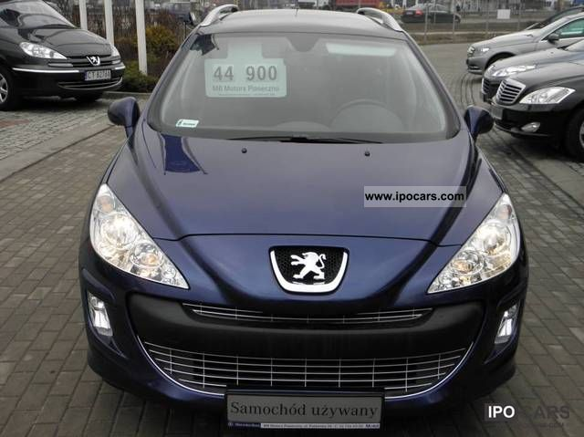 2008 peugeot 308 sw 7osobowy bezwypadkowy pl car photo and specs. Black Bedroom Furniture Sets. Home Design Ideas