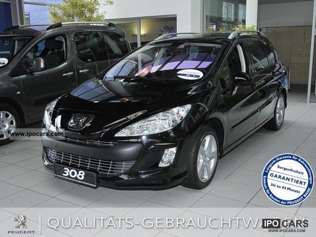 2011 peugeot 308 sw hdi fap 110 platinum 6 speed car. Black Bedroom Furniture Sets. Home Design Ideas
