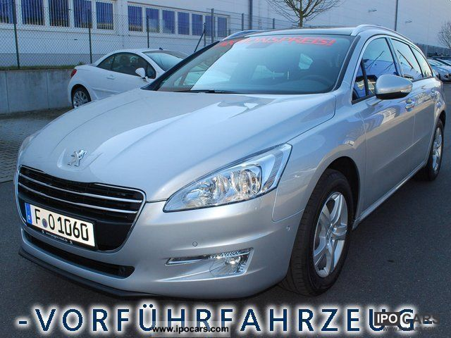 2012 peugeot 508 sw active 165hdi with navi car photo. Black Bedroom Furniture Sets. Home Design Ideas