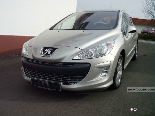 2007 peugeot 308 hdi 110 sport car photo and specs. Black Bedroom Furniture Sets. Home Design Ideas