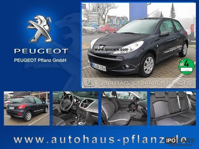 2012 Peugeot  206 + 1.4 75 CD radio air Euro5 Limousine Pre-Registration photo