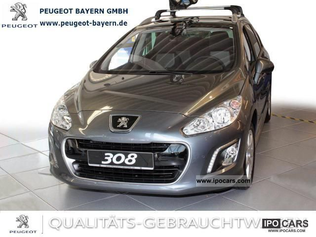 2011 peugeot thp 308 sw 155 active cruise control panorama pdc car photo and specs. Black Bedroom Furniture Sets. Home Design Ideas