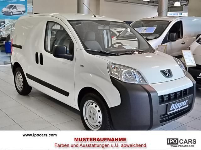 2012 Peugeot  Bipper Tepee HDI 75 CLIMATE Van / Minibus Pre-Registration photo