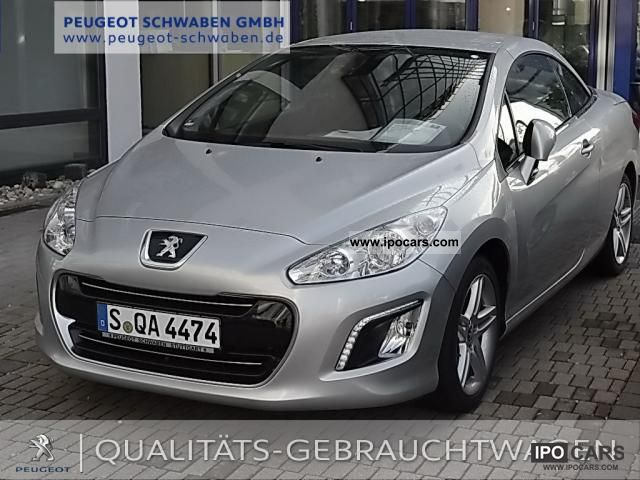 2011 peugeot 308 cc thp 155 active eph car photo and specs. Black Bedroom Furniture Sets. Home Design Ideas