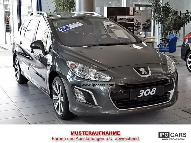 2012 peugeot 308 sw access 100 air car photo and specs. Black Bedroom Furniture Sets. Home Design Ideas