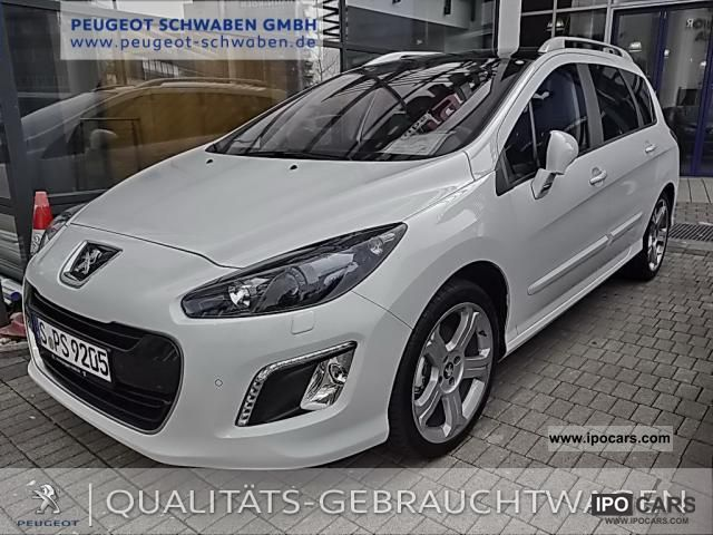 2012 Peugeot 308 Sw Hdi 165 Allure Machine Xenon Car
