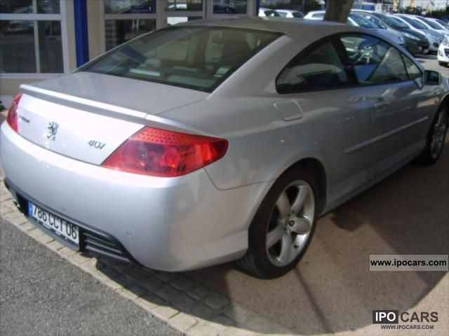 2008 Peugeot 407 2.7 V6 HDi FAP Feline BAa Sports car/Coupe Used ...