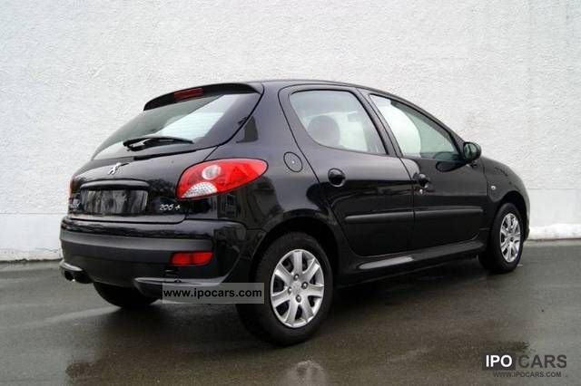 2010 peugeot 206 car photo and specs. Black Bedroom Furniture Sets. Home Design Ideas
