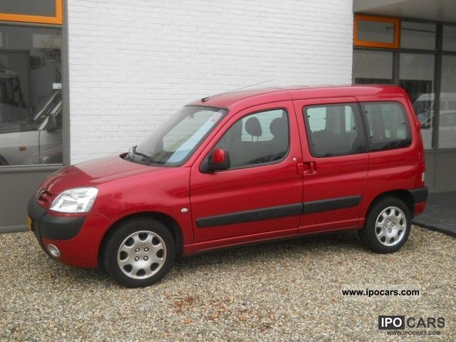 2007 Peugeot  Partners 1.6 16V COMBI Airco 5-persons Van / Minibus Used vehicle photo