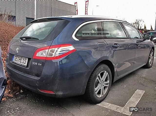 2012 peugeot 508 2.0 hdi 140 sw business line navi climate - car