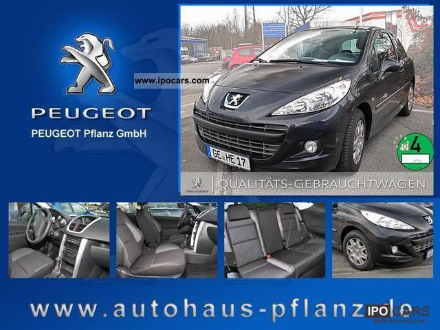 2012 Peugeot  16V 207 1.6 HDi 90 FAP Tendance climate Limousine Demonstration Vehicle photo
