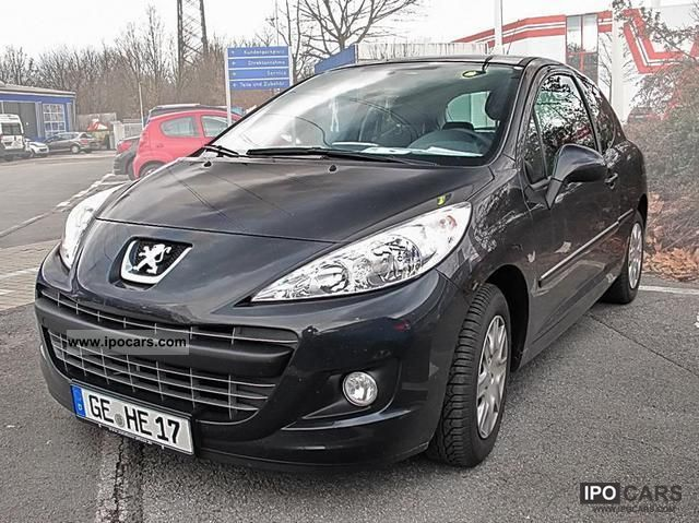 2012 peugeot 16v 207 1 6 hdi 90 fap tendance climate car photo and specs. Black Bedroom Furniture Sets. Home Design Ideas