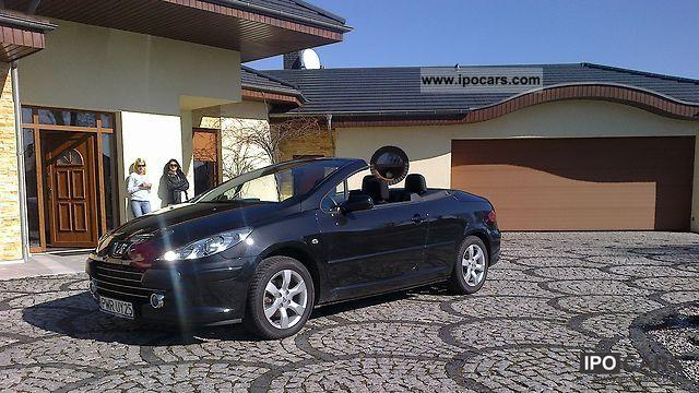 2007 peugeot 307 cc convertible 60 tkm no accident car. Black Bedroom Furniture Sets. Home Design Ideas