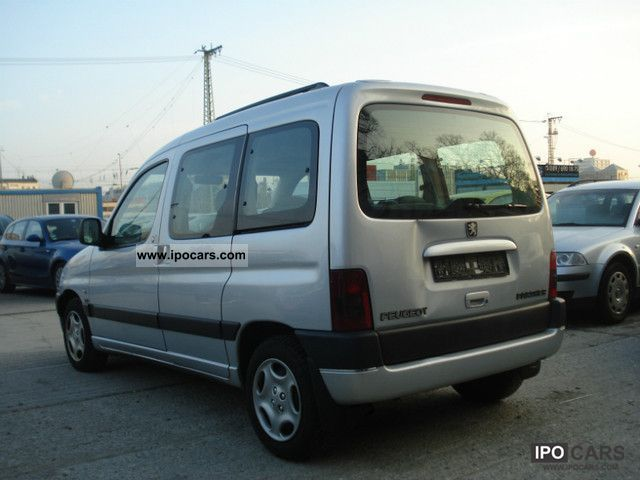 2002 peugeot partner hdi 90 liberte car photo and specs. Black Bedroom Furniture Sets. Home Design Ideas