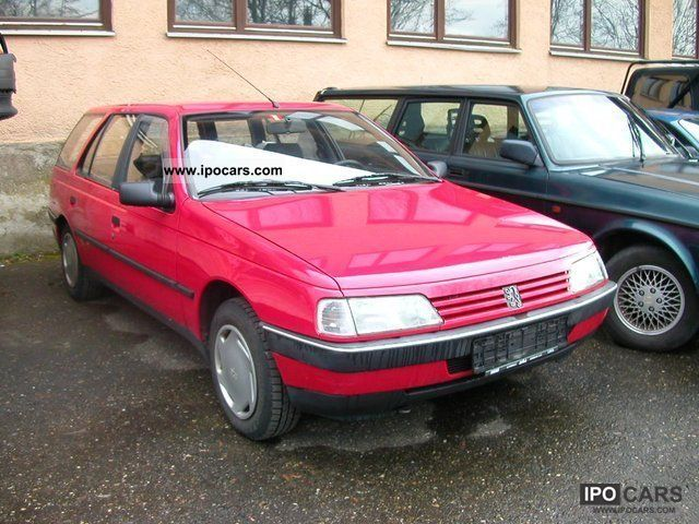 1993 Peugeot  405 Break PARTS CARRIER Estate Car Used vehicle photo